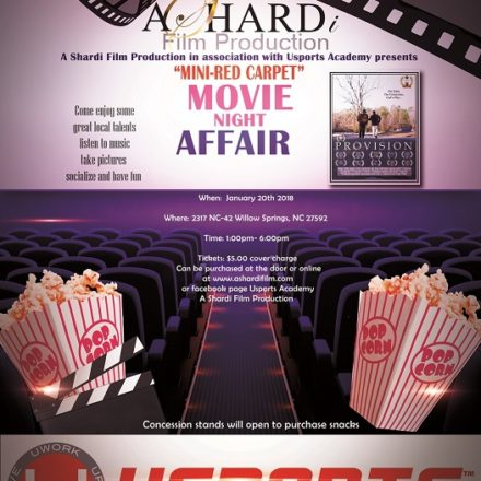 Film – Mini Red Carpet Movie Night