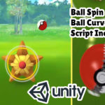 Unity Ball Throw Like Pokemon Go with Curve Ball