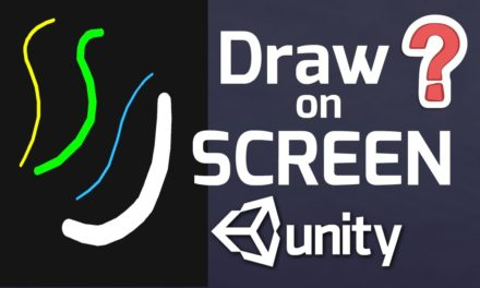 Unity Drawing Game – Drawing on the screen with Unity